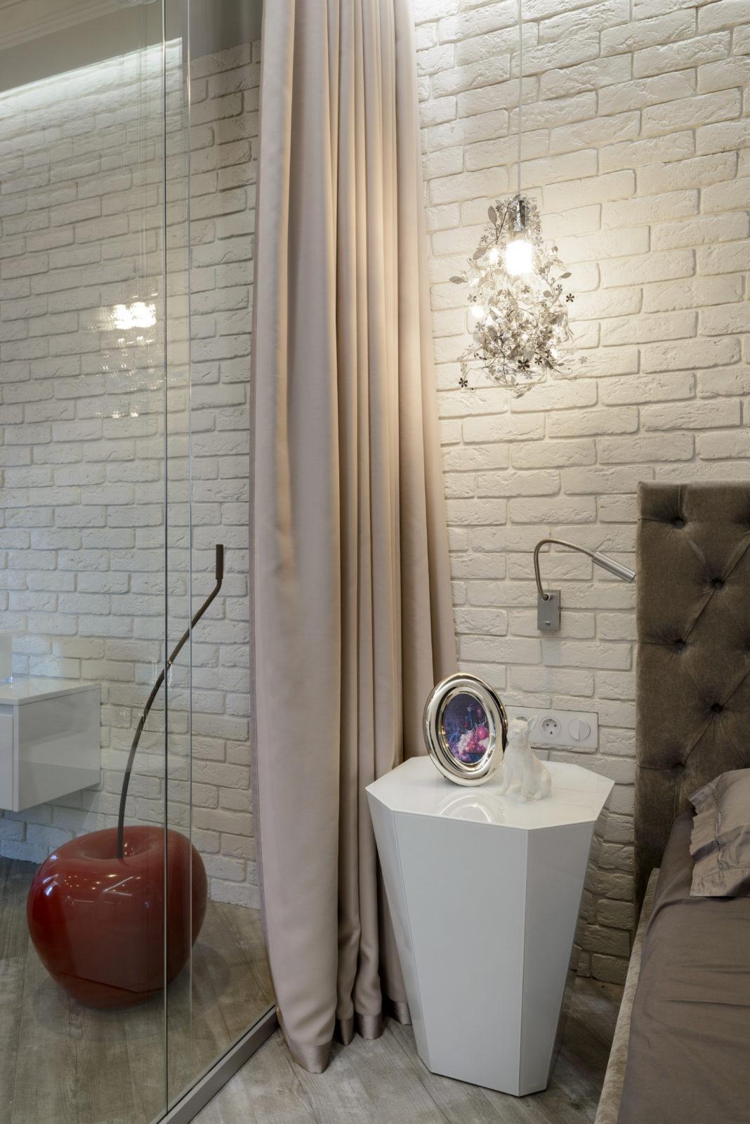 Дизайнерский ремонт спальной комнаты ( Академгородок )
