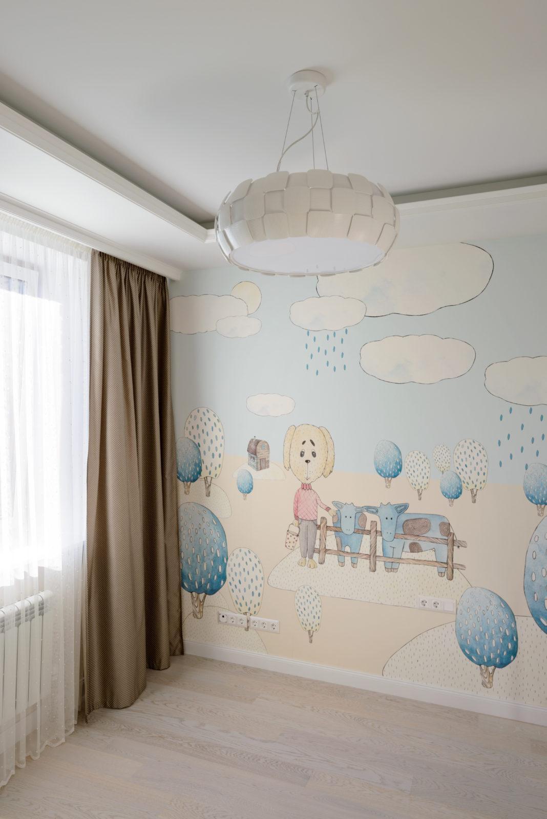 Ремонт детской комнаты Бавария