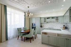 Ремонт кухни в ЖК Бавария