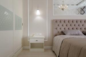 Ремонт спальной комнаты ЖК Бавария