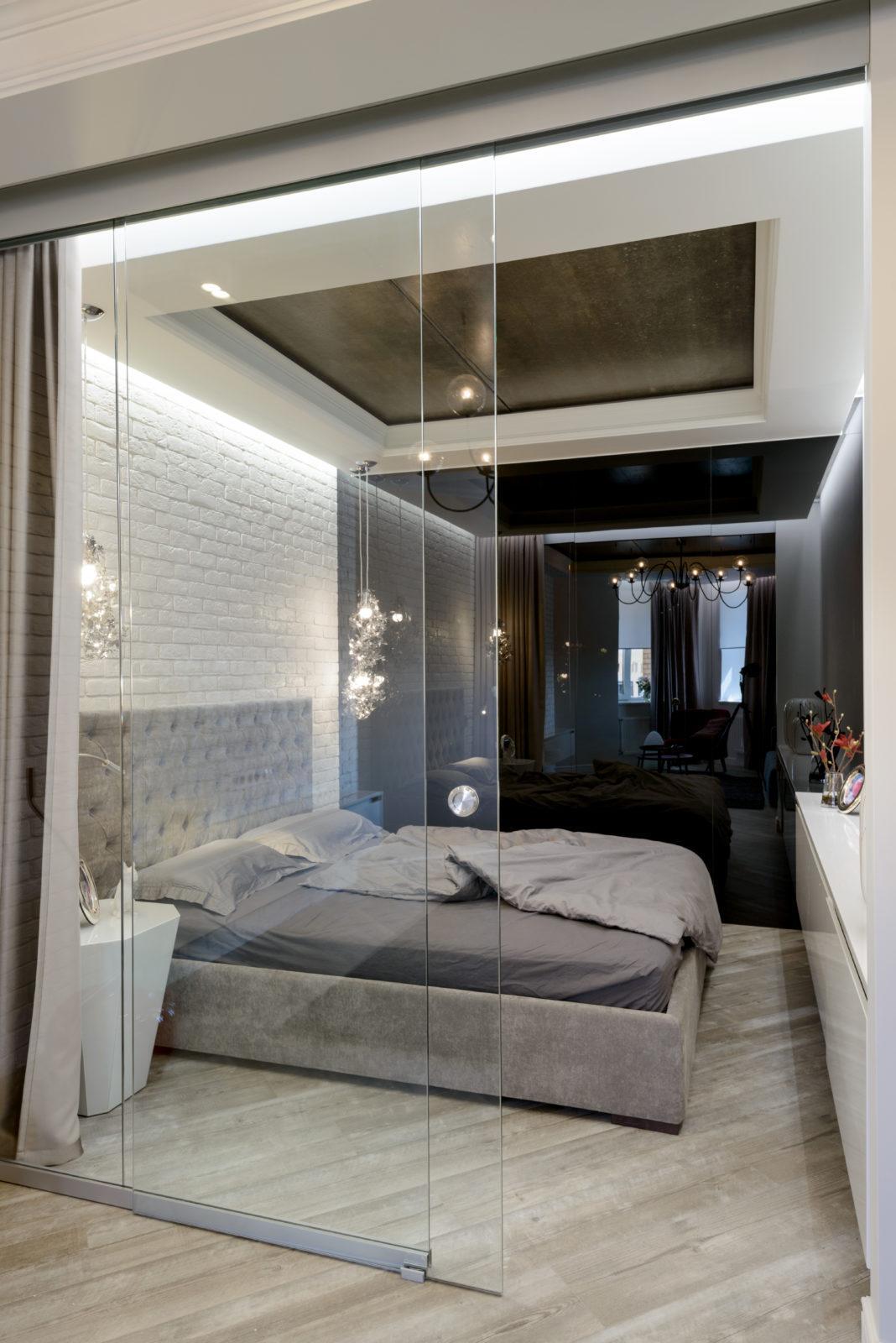 Дизайн интерьера спальни ( Академгородок )