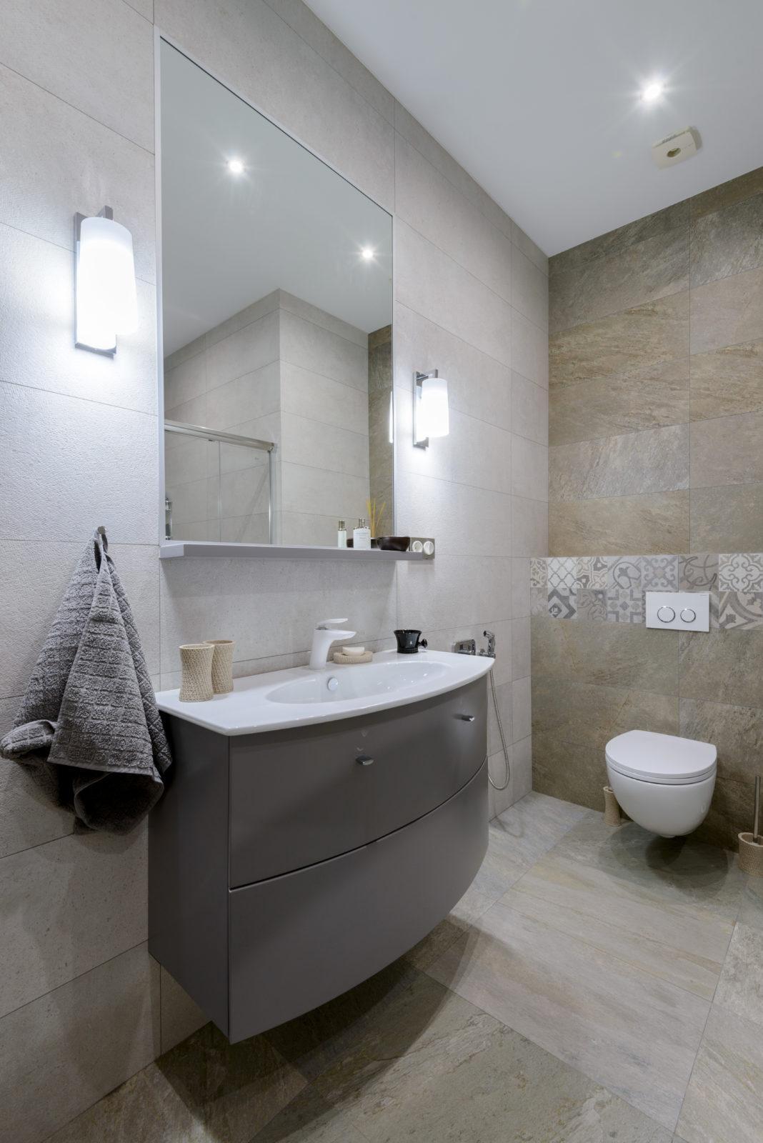 Дизайн интерьера ванной комнаты на даче